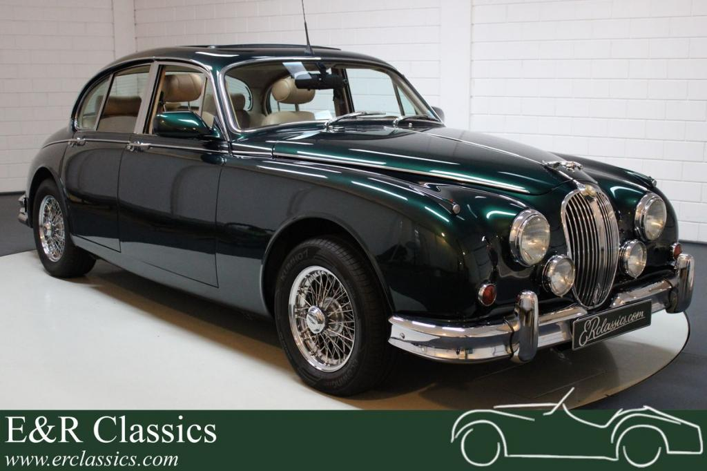 Jaguar MK2 Beacham restored, 24,422 km 1963